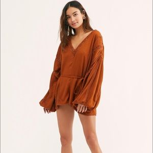 Free People Intimately I Mean it Robber Romper